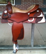 Saddle shown in CHESTNUT color