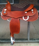 Saddle shown in MEDIUM BROWN